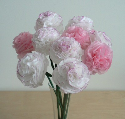 tissue-paper-carnations