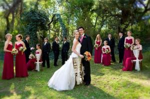 Raspberry-Pink-Bridal-Party