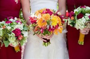 Raspberry-Pink-Bridesmaids-Dresses