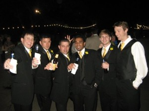Yellow Ties and Boutonnieres