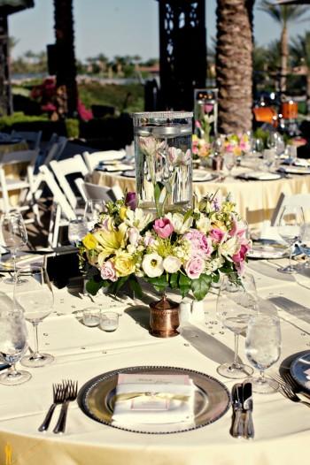 pink-and-yellow-wedding