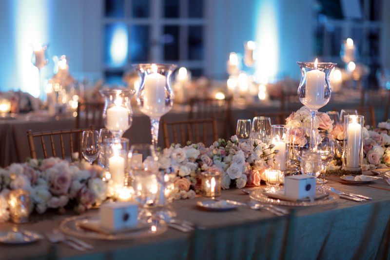 Gold And White Wedding Centerpieces