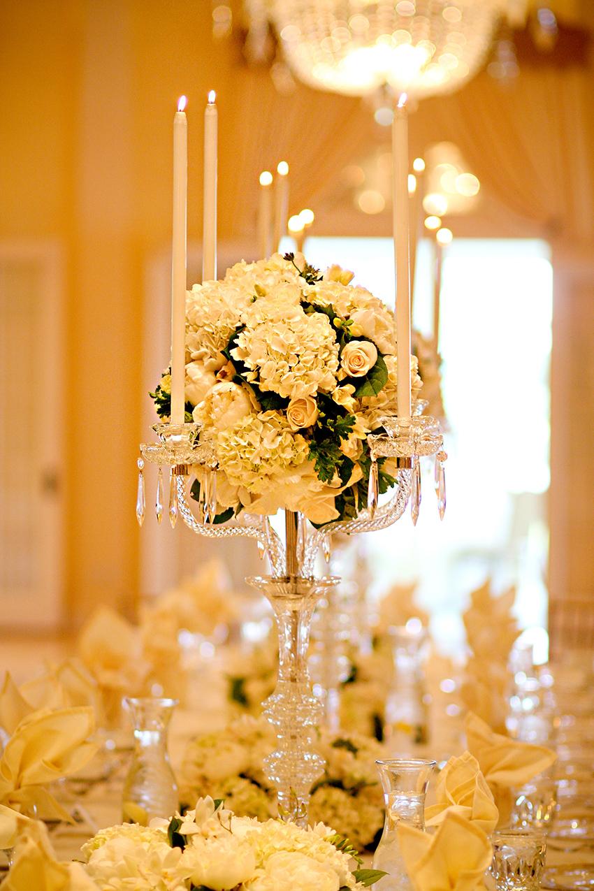 Taper Candle Centerpiece Elizabeth Anne Designs The