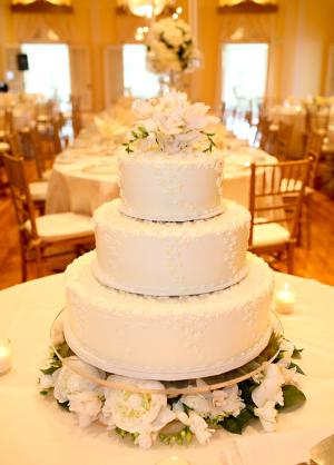 Three Tier Wedding Cake