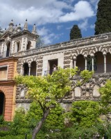 Jardines Alcazares in Sevilla