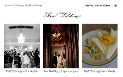 real-weddings