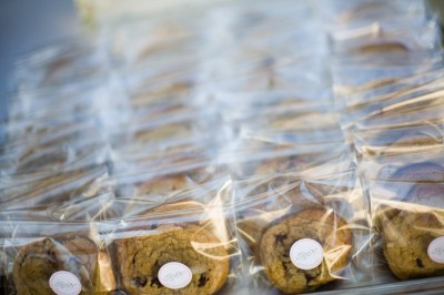 homemade cookie wedding favors