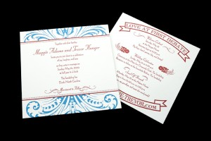 Invitation and Weekend Activity Card