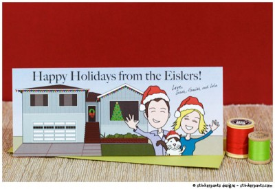 stinkerpants-holiday-cards