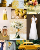 yellow-wedding-inspiration-board
