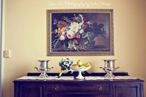 bouquet-under-painting