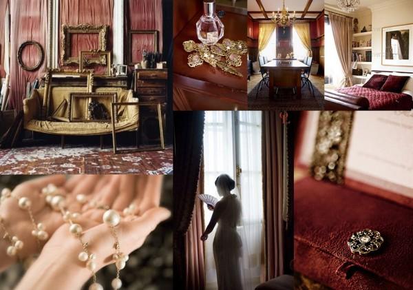 burgundy-gold-wedding-inspiration-board