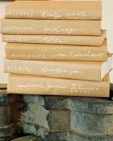 kraft-paper-book-covers-wedding-decor