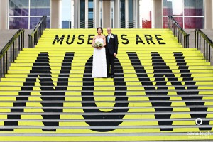 mca-museum-steps-wedding