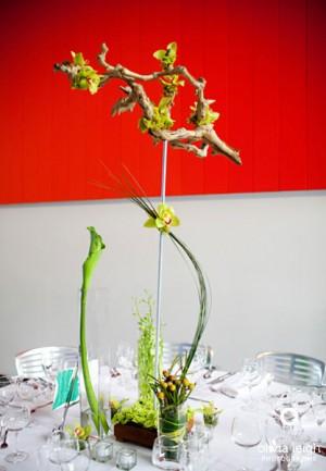 modern-green-and-yellow-branch-tall-centerpiece