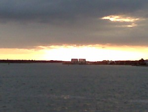 sunset-on-the-ferry