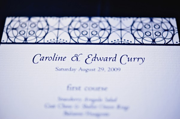 blue-and-white-wedding-reception-menu-card