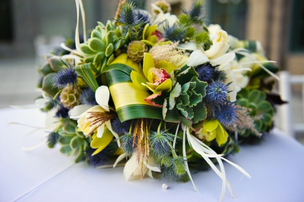 dark-green-and-blue-wedding-bouquet