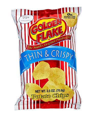 Golden Flake Potato chips