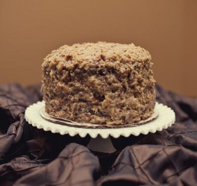 homemade-german-chocolate-cake-for-wedding-cake-buffet