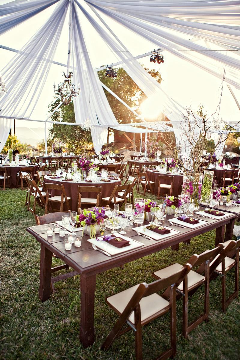 purple-green-pink-brown-wedding-reception-under-tent - Elizabeth Anne Designs The Wedding Blog & purple-green-pink-brown-wedding-reception-under-tent - Elizabeth ...