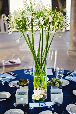 white-and-green-tall-centerpieces