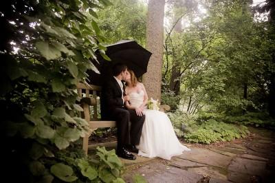 bride-and-groom-under-umbrella