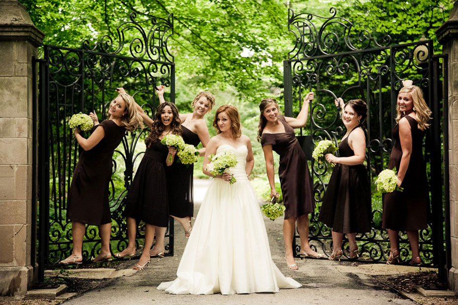 Chocolate Brown Bridesmaids Dresses Elizabeth Anne Designs The