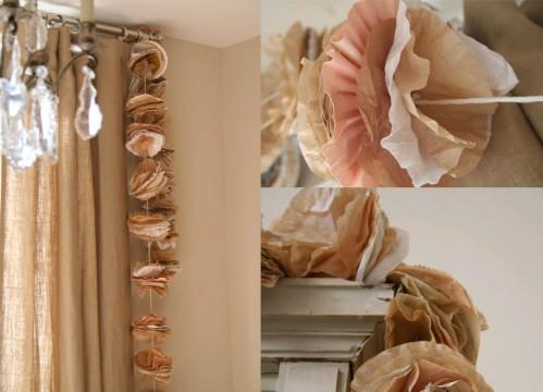 coffee-filter-garland-wedding-diy-project-ideas