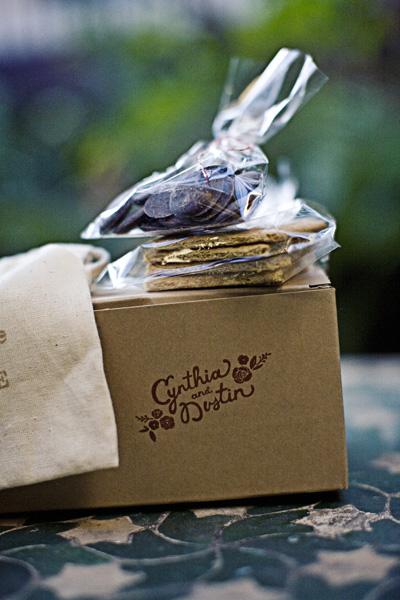 DIY Smores Wedding Favors