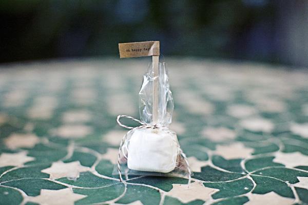 DIY Smores Wedding Favors Marshmellow