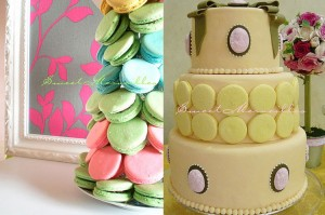 macaron_macaroon_yellow_wedding_cake_cascade_macaroons