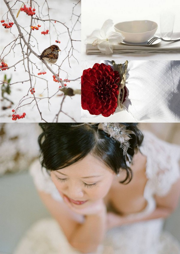 red-white-brown-winter-wedding-inspiration-board