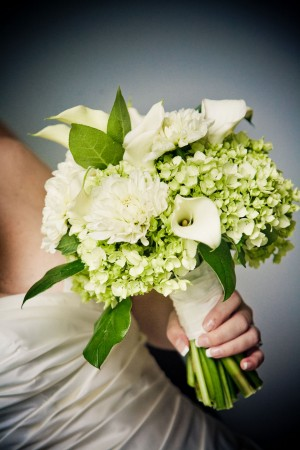 white-and-green-bouquet-hydrangeas