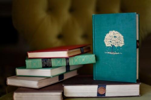 altered-book-wedding-invitation-wax-seal