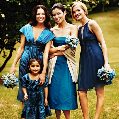 Periwinkle Bridesmaid Dresses photos