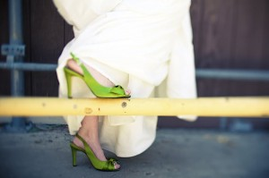bride-lime-green-shoes