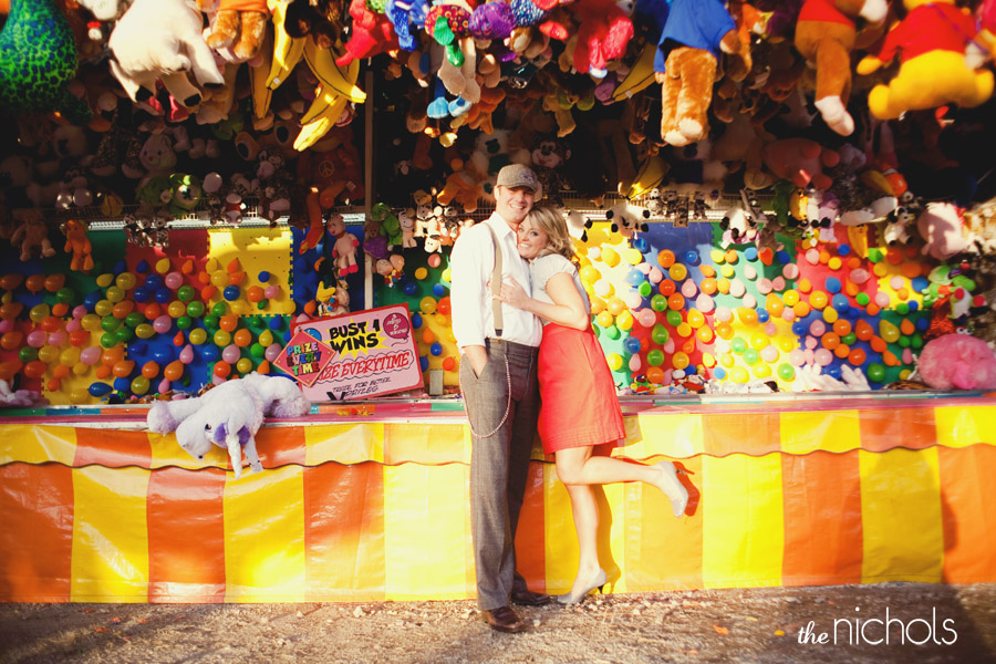Carnival Themed Engagement Photos Elizabeth Anne Designs