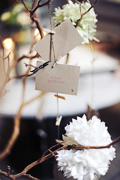 escort-card-tree-clothespins-on-twine