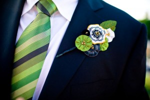 fabric-flower-boutonniere