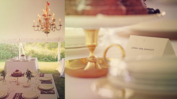 Farmhouse Wedding Reception Details