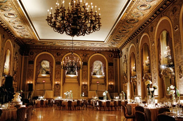 Gold Ballroom Wedding Reception Elizabeth Anne Designs The