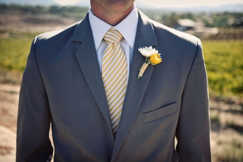 gray-suit-yellow-striped-tie-groom
