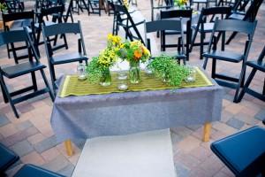 green-sari-fabric-table-runner