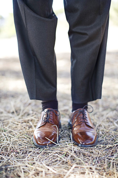 Groom Brown Shoes