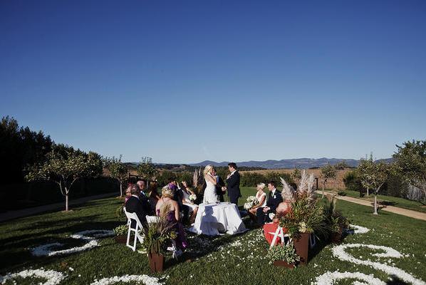 Rustic Napa Wine Country Wedding
