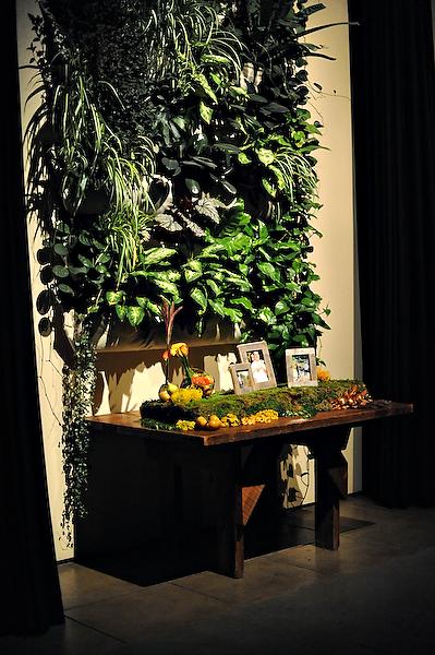mossy-garden-display-wedding-escort-cards