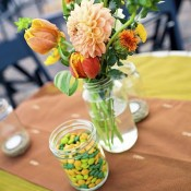 peach-yellow-green-diy-flower-arrangements