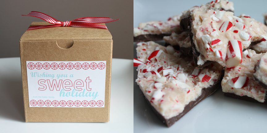 Exquisite events seattle edible wedding favors peppermint bark wedding favor junglespirit Image collections