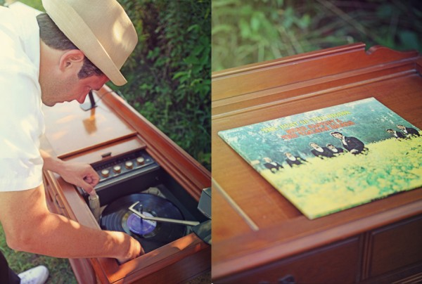 Record Player Vintage Wedding